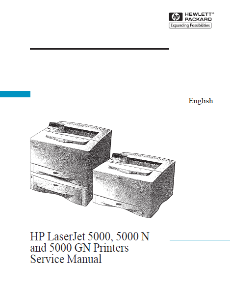 Hewlett Packard Service Manuals