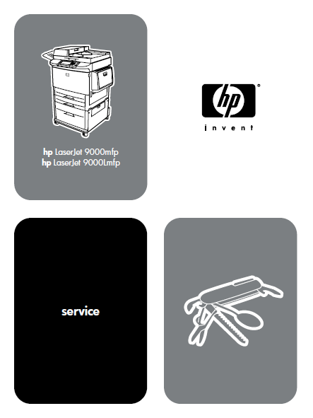 Hewlett Packard LaserJet 9000mfp Service Manual