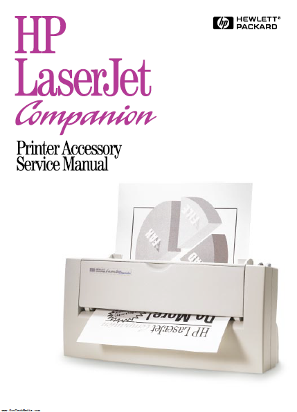 Hewlett Packard LaserJet Companion Printer Accessory Service Manual