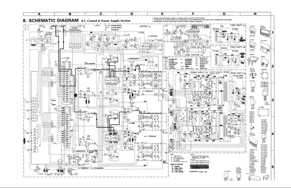 BOSE Lifestyle CD10 Schematics