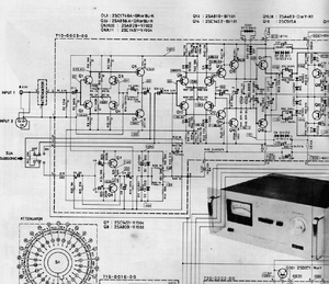Accuphase M-60 Schematics