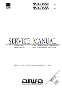 AIWA NSX-DS50_NSX-DS55 Service Manual