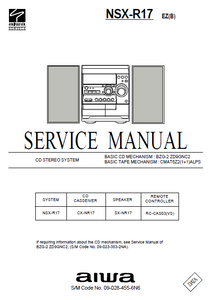 AIWA NSX-R17 Service Manual