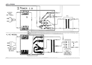AIWA PX-E850 Power Suply Schematic