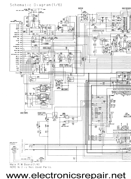 ALPINE TDA 7592R Electronics Repair Schematics