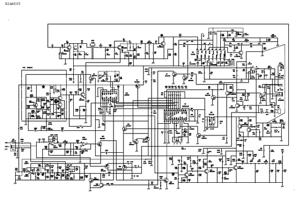 ALAN 503 Schematic