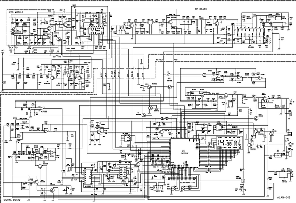 ALAN 516 Schematic