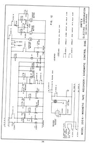 AMPEX 200A Magnetic Tape Recorder Schematics