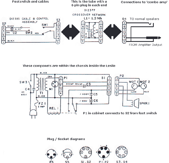 FENDER Vibratone 16adapt Schematic