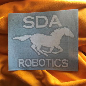 [2102] SDA Robotics Car Sticker