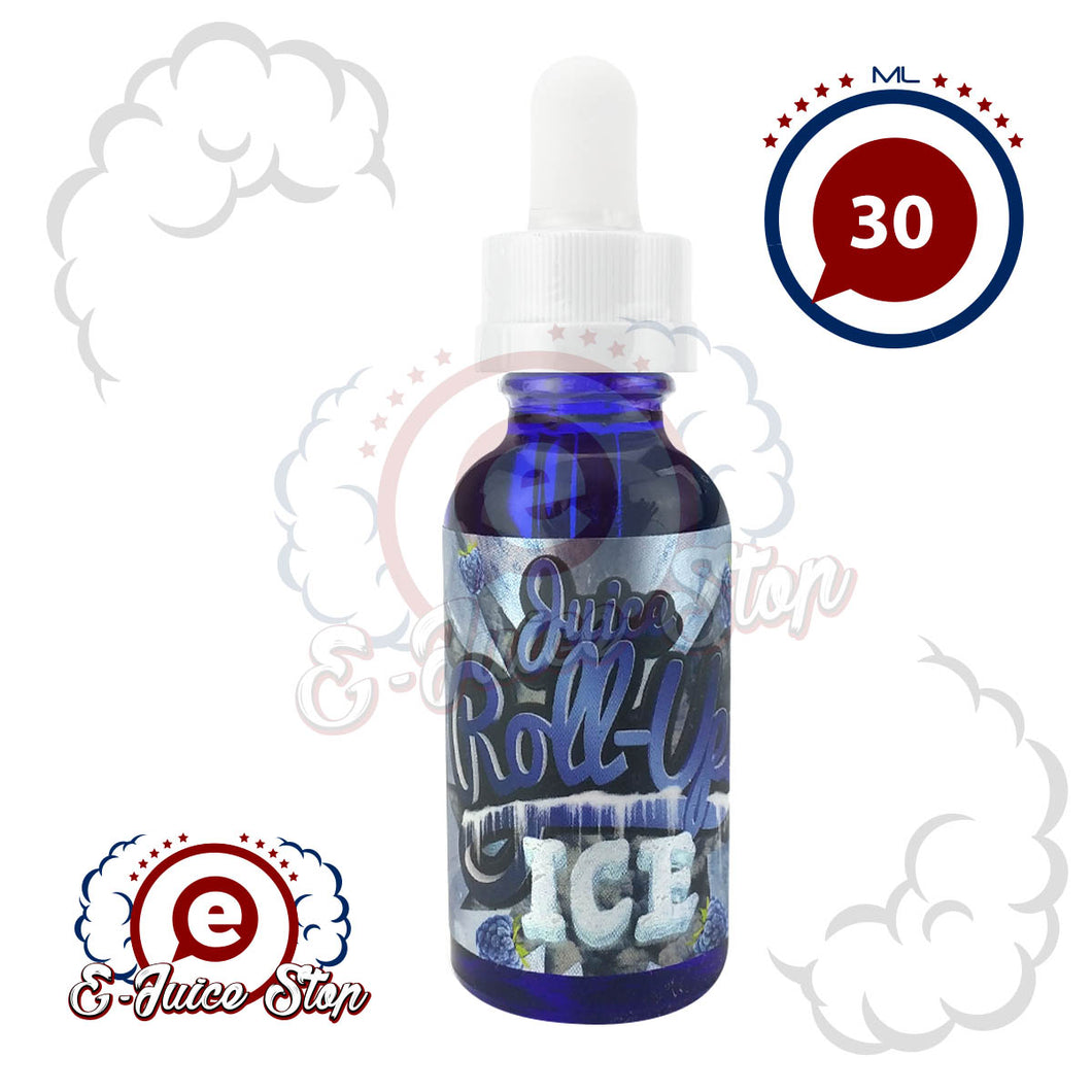 Blue Raspberry Ice by Juice Roll Upz