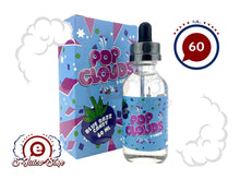 Blue Razz Candy by Pop Clouds E-Liquid