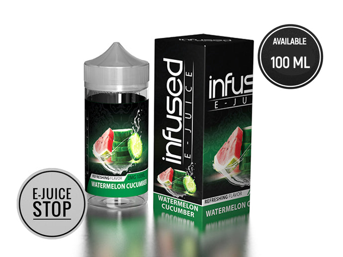 Watermelon Cucumber By Infused E-Juice