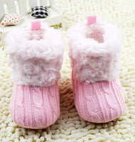 2017 Winter Warm First Walkers Baby Ankle Snow Crochet Boots For Boys & Girls - Babies Are Beautiful Store