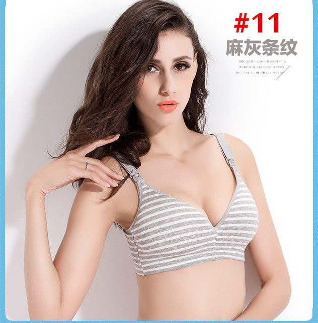 Breastfeeding cotton Maternity sleep bras for nursing pregnant women - Babies Are Beautiful Store