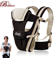 4 in 1 Infant Comfortable Sling Backpack Pouch Wrap Baby Kangaroo