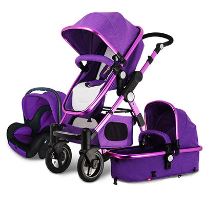 Baby Stroller 3 in 1 with Car Seat For Newborn