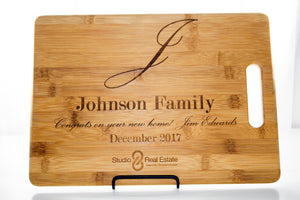 Personalized Closing Gift Cutting Board