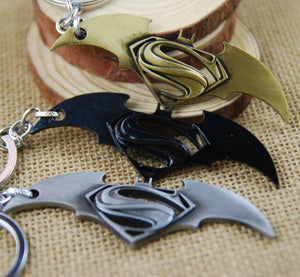 Batman Vs Superman Metal Keychain