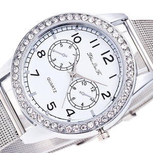 New Women Contracted Fashion Steel Watch
