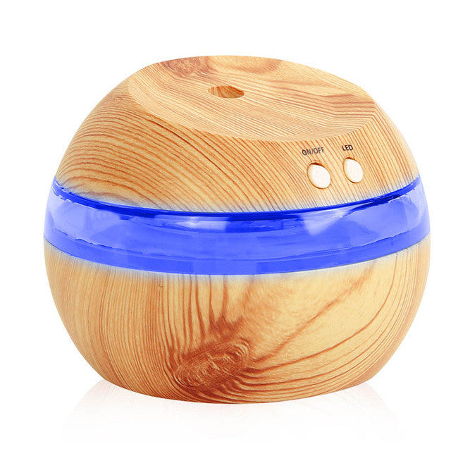 290 Mini Blue Blacklight Ultrasonic Humidifier Aroma Essential Oil Diffuser For Home and Car