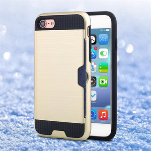 Premium Luxury Shockproof Armor Hard Silicone Cover