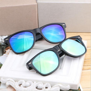 Men Black Frame Sunglasses