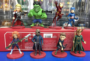 WCF Avengers 2 Age of Ultron PVC Figure Toys 8pcs/set