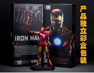 Avengers 2 Age of Ultron Iron Man Black Widow Hawkeye Captain America Thor Hulk PVC Action Figures