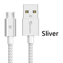 TEGEM Fast Charger Data Cable Nylon Braided Cable5V 2A Micro USB Cable
