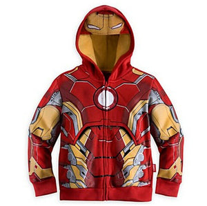 Avengers Hooded Jacket For Boys