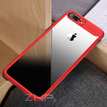 ZNP Luxury Case Thin Slim PC & TPU Silicone Phone Cover