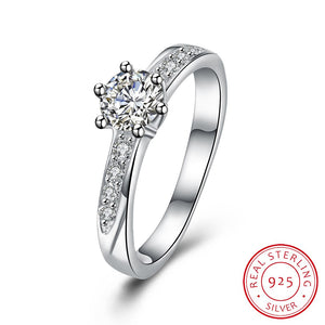 925 Sterling Silver Wedding Ring