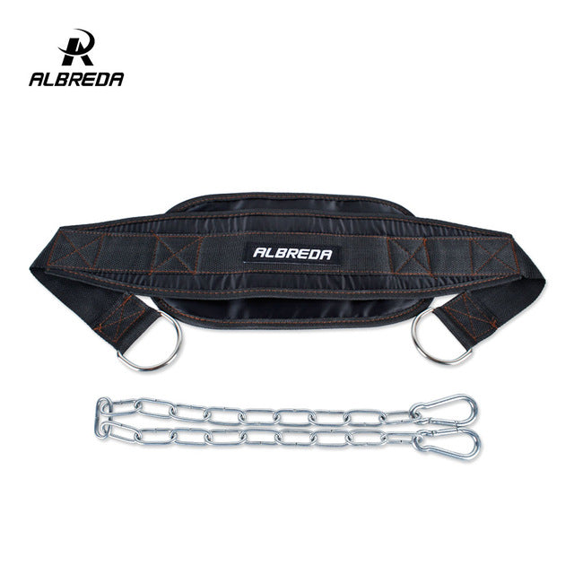 ALBREDA Dumbbells Weight Lifting Belt