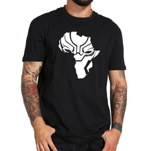 Black Panther Wakanda Africa Map T-Shirt