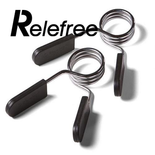 RELEFREE 25mm Sport Dumbbell Barbell Spring Clips Collars