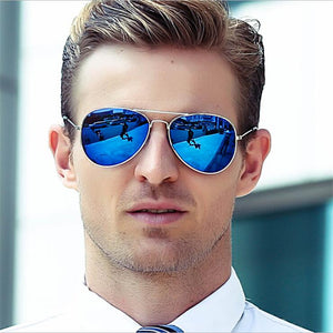 Men Classic Aviator Sunglasses