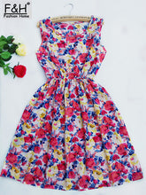 CDJLFH Summer Chiffon Beach Dress