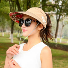 Women Wide Brim Outdoor Sun Visor