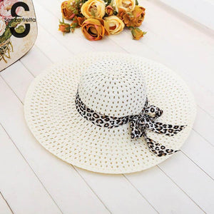 Women Wide Brim Summer Hat