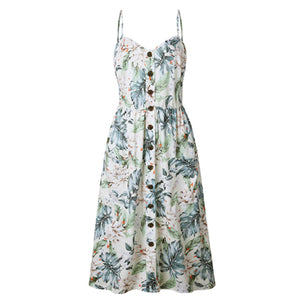 BEFORW Bojo Beach Printed Dress
