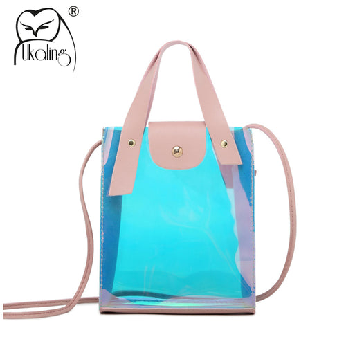 UKQLING Small Crossbody Transparent Bag