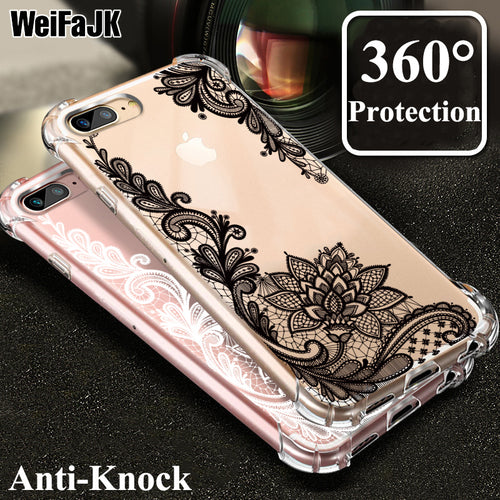 WeiFaJK 360 Protective Silicone Case For iPhone