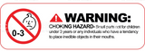 small parts hazard sign