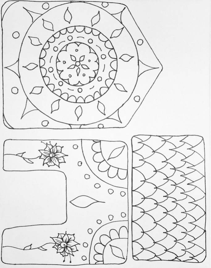 mandala house template