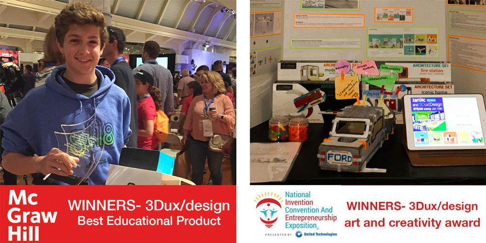 3dux/design winning mcgraw hill educational product award