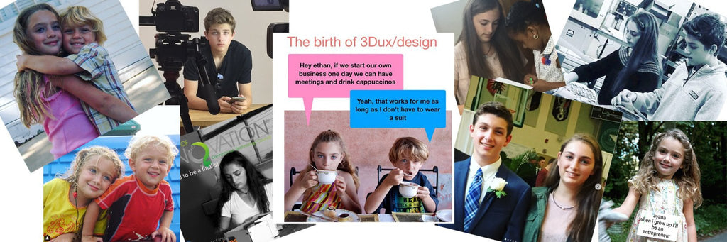 3duxdesign founders high school teen entrepreneurs Ayana and Ethan Klein