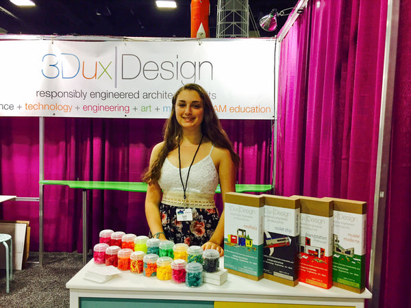 ayana klein working at the destination imagination 2018 global finals booth