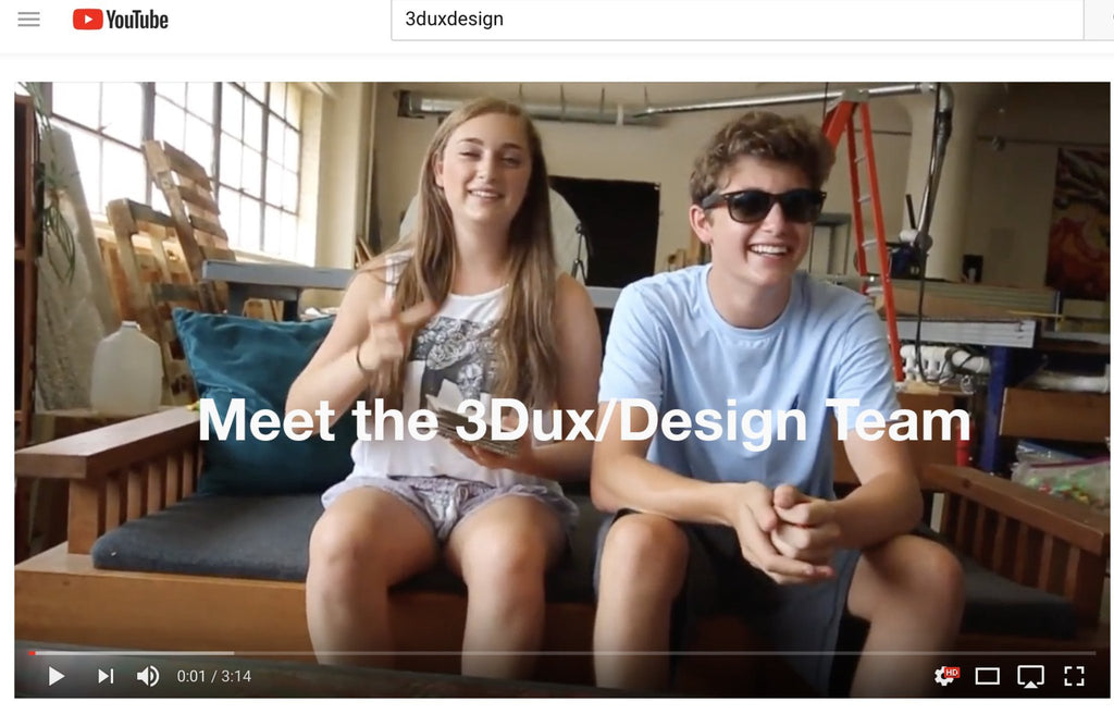 ayana klein and ethan klein interview on kickstarter talk about 3duxdesign, design thinking and early childhood learning