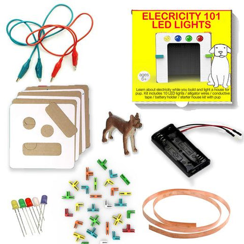 3DuxDesign Power pack - LED lighting set for learning basic circuits and electricity
